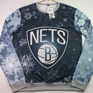 Officially Licensed NBA Brooklyn Nets Xmas Sweater